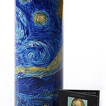 Van Gogh Starry Night Ceramic Flower Vase 7H - VAS02GO