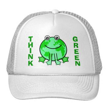 Earth Day Global Green Environment Trucker Hat