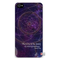 Premium Direct Print Dream Catcher Outer Space Stephen King Quote iphone 6 Quality Hard Snap On Case for iphone 6/Apple iphone 6 - AT&T Sprint Verizon - White Case PLUS Bonus RCGRafix The Best Iphone Business Productivity Apps Review Guide