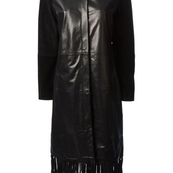 Joseph fringed coat