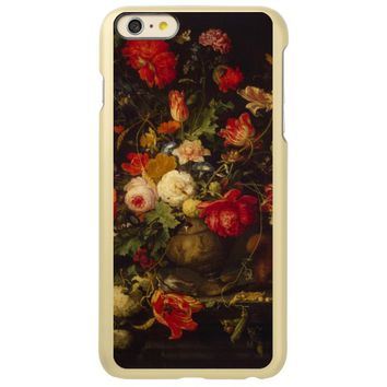 Vintage elegant floral vase incipio feather® shine iPhone 6 plus case