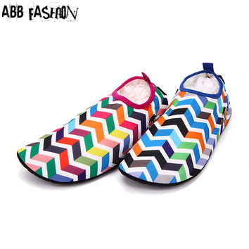 Hot sale Multifunction Women Shoes Leisure Home Beach Swimming Loafers Shoes Breathable Synthetic Flats Shoes 079