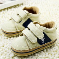Buy Online Easy to Wear Beige Shoes for Toddler Boys in India