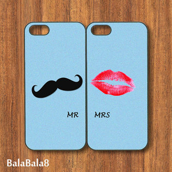 Mr Mrs - iPhone  4 case, iphone 5 Case, iPod 4 case, iPod 5 case, Samsung Galaxy S3, Samsung Galaxy S4, Galaxy note 2, Blackberry Q10 , z10