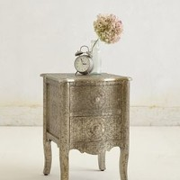 Hand-Embossed Nightstand by Anthropologie