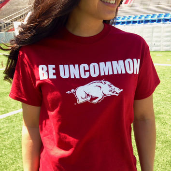 Arkansas Be Uncommon Unisex Crew Tee