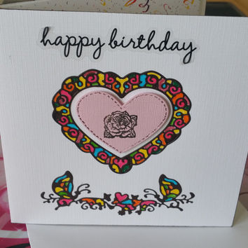 Cards - Birthday Cards - Handmade Cards - Any occasion cards - Made in Australia - unique cards - Happy Birthday Brand new day