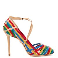 Mariachi woven suede sandals