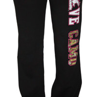 Junior LOVE CAMO Black Sweatpants