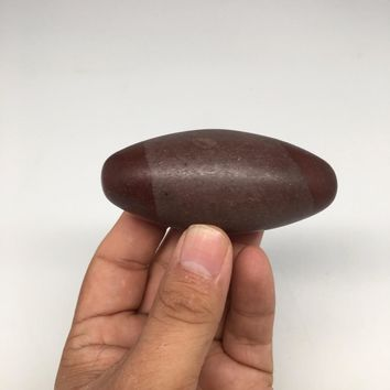 "117.7g, 3"" x 1.35"" Natural Sacred Shiva Lingam Gemstone, Reiki, Energy, MS156"