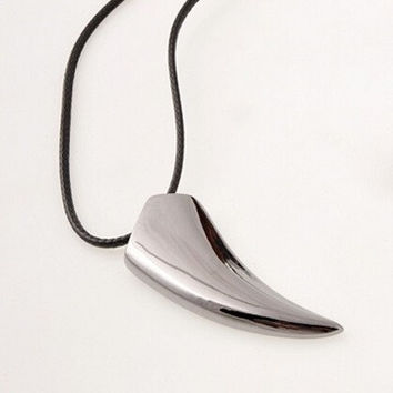 Wolf Tooth Necklace Animal Pendant