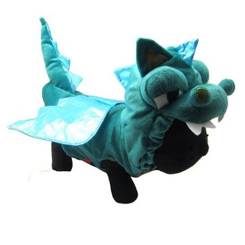 Dinosaur Style Pet Dog Costume Cat Clothes