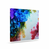 "Claire Day ""Fiona"" Rainbow Painting Canvas Art"