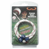 Classic Frozen Rope Baseball Bracelet - Kansas City Royals
