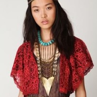 Intimately Lace Bed Jacket at Free People Clothing Boutique