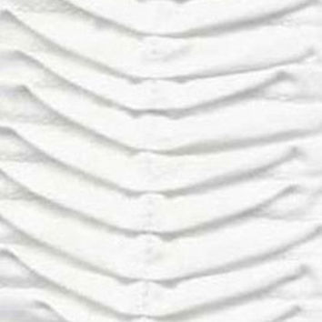 Organic White Cotton Percale Fabric by the Yard | 100% Cotton