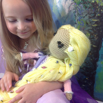 Rapunzel Tangled Crochet Pattern