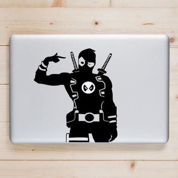 Deadpool Dead pool Taco  Humor Vinyl Laptop Decal for Apple Macbook  Pro Air Retina 11 12 13 15 inch for Xiaomi Mac HP Surface Book Skin Sticker AT_70_6