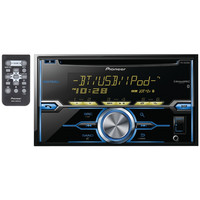 PIONEER FH-X820BS Double-DIN In-Dash CD Receiver with Bluetooth(R), SiriusXM(R) Ready,Siri(R) Eyes Free, USB, Android(TM) Music Support & Pandora(R) Internet Radio