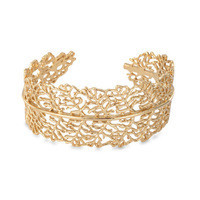 SD  gold plating grace Lace Cuff