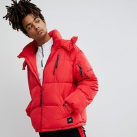Sixth June Puffer Jacket In Red at asos.com