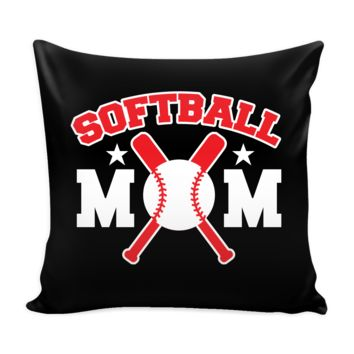 Softball Mom Pillow Cover (Free Shipping)