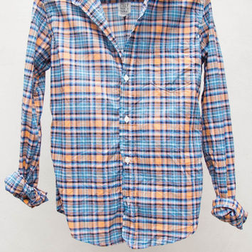 Turquoise Plaid Barry Shirt