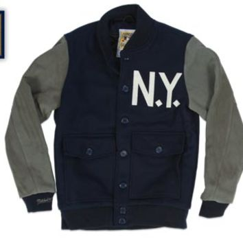 New York Yankees 1927 Authentic Wool Jacket - Mitchell & Ness Nostalgia Co.