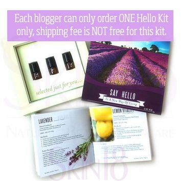 Young Living Essential Oil Say Hello Kit