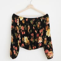 Flora Shoulder Top