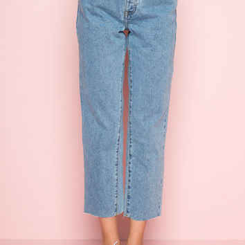 Millie Denim Pants - Clothing