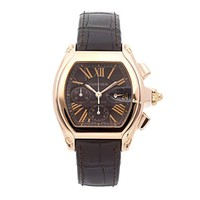 Cartier Roadster Mechanical (Automatic) Brown Dial Mens Watch W62042Y5 (Certified Pre-Owned)