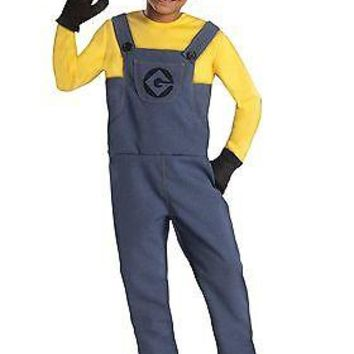Boys Minion Dave Costume
