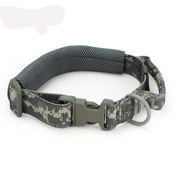 Military Tactical/Hunting Adjustable Dog Training Collar