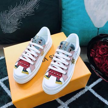 Prada Women Calf leather sneakers