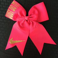 Nike Just Do It! Hair Bow