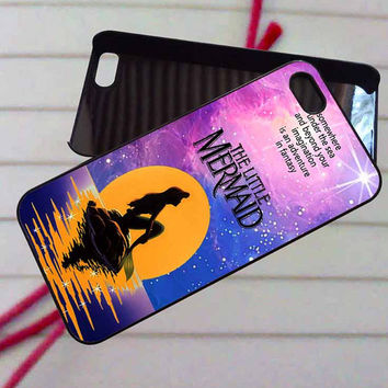 ariel the little mermaid - case iPhone 4/4s,5,5s,5c,6,6+samsung s3,4,5,6