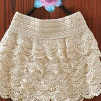 Cute Crochet Shorts