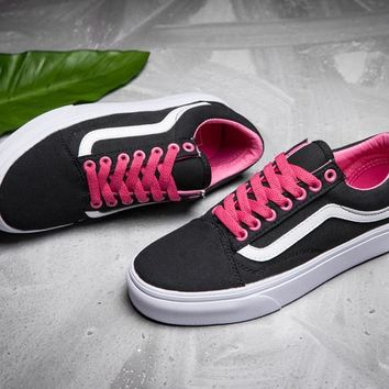 Vans Canvas Old Skool Flat Sneakers Sport Shoes