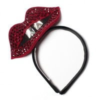 Shop - Vanessa lips headband | Made by Benoit Missolin, selected by Valery Demure |