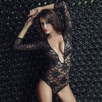 On Sale Sexy Hot Deal Cute Stretch Lace Transparent Exotic Lingerie [6596189763]
