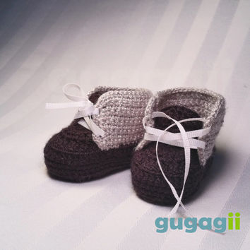 Majestic Inspired, Crochet Baby Shoes, with Laces, Cotton Crochet  Baby Shoes,  Baby Sneakers, Crochet Shoes, Crochet Baby, Baby Booties