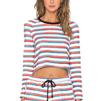 The Fifth Label Left Alone Top in Vintage Stripe