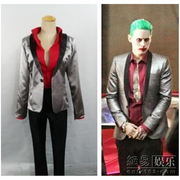 Suicide Squad Jared Leto Batman Joker Cosplay Costume Custom Any Size