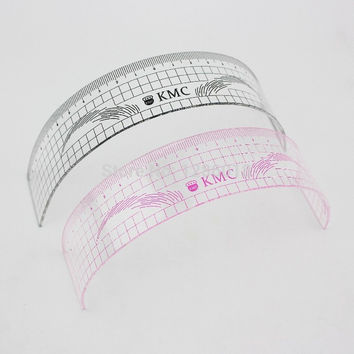 Eyebrow rulers tool measures microblading permanent make up Eyebrow tattoo position ruler
