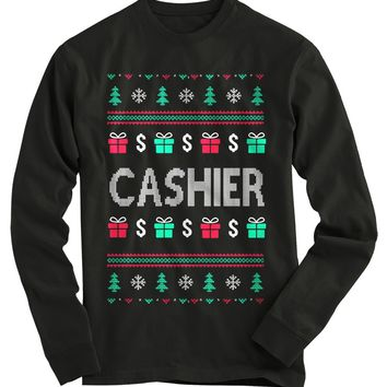 Cashier Ugly Christmas Sweater