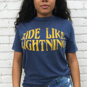 Ride Like Lightning Tee