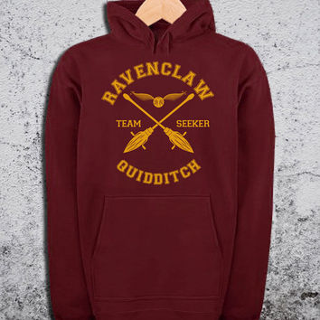 Ravenclaw Quidditch Hoodie Harry Potter Unisex Hoodies