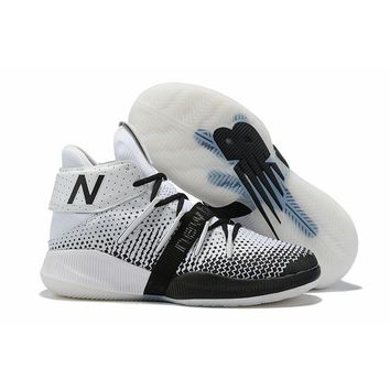 New Balance OMN1S Kawhi Leonard White Black Basketball Shoes- Best Deal Online