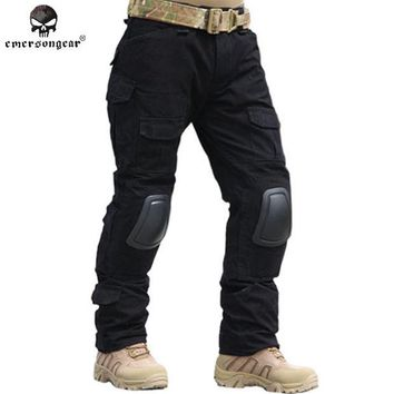 DCCKHG7 Emersongear Gen2 Combat Pants With Knee Pads BDU Army Airsoft Tactical Gear Paintball Hunting Trousers Multicam ACU Emerson